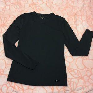🔥Champion Black workout long sleeve top Size M